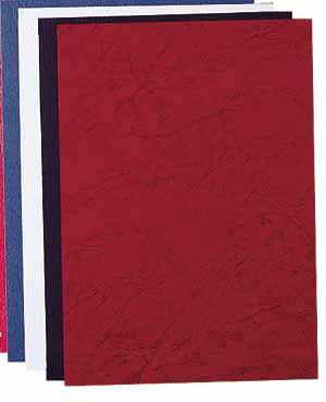 Dark Red A4 Delta Covers (100Pk)