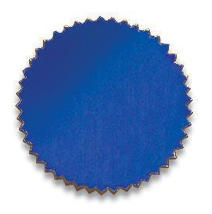 Certificate Seal Plain Blue