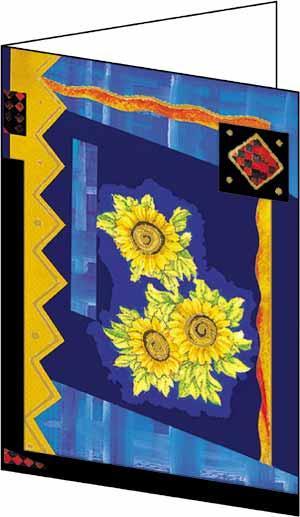 Blue Sun Cards (12)