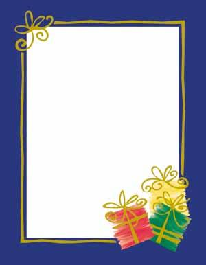 Gifts Of The Season Theme Paper
