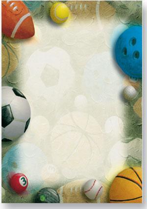 Good Sport A4 Theme Paper