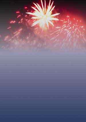 Fireworks Theme Paper