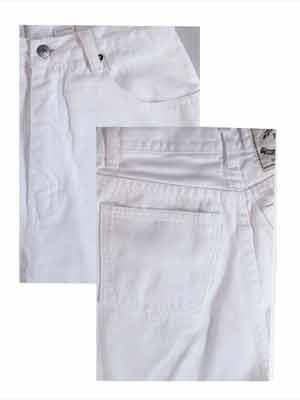 White Jeans Theme Paper