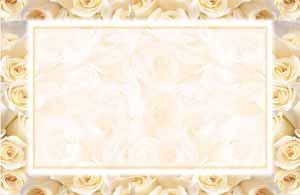Cream Roses Invitations Only