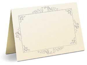 Elegance Invitations Only Cream