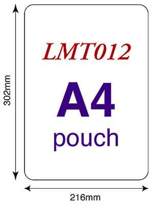 250 Micron Pouches - (Pack Of 25 - Oversize A4)