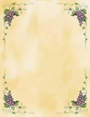 Grapevine Theme Paper (Q-Pak)