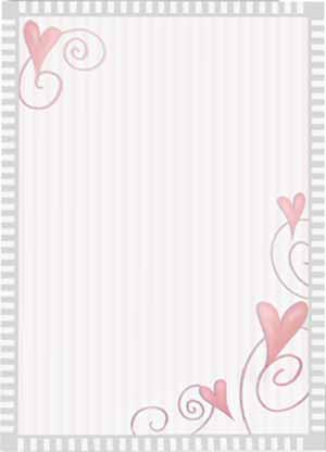 Dancing Hearts Theme Paper (Q-Pak)
