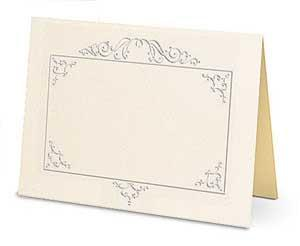Elegance Response Cards Only Cream