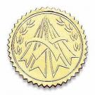 Distinction Gold Certificate Seals