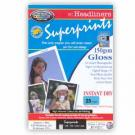 Superprints 150Gsm Single Sided Gloss (25 Sheets)