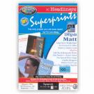 Superprints 180Gsm Double Sided Matt (100 Sheets)